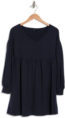 Kenedik French Terry Babydoll Dress