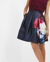 Ted Baker Blushing Bouquet pleated full skirt