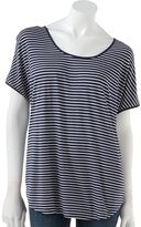 Lauren Conrad striped dolman top