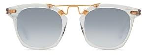 Krewe Unisex Lafayette 24K Square Sunglasses, 51mm
