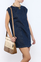 the Hanger Denim Shift Dress
