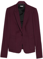 Stretch wool-gabardine blazer