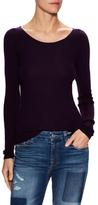 Cashmere Ballerina Ribbed Crewneck Sweater