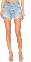 Moussy Distressed Cut Off Short