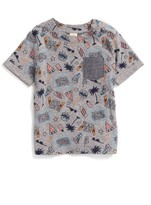 Infant Boy's Tucker + Tate Chambray Pocket T-Shirt