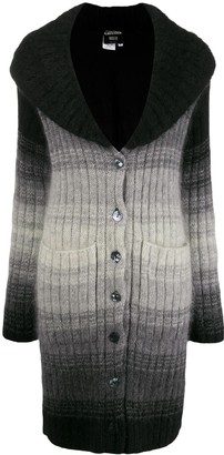 Jean Paul Gaultier Pre Owned 2000s Degrade Knitted Cardigan