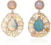 Irene Neuwirth Diamond Pave Tear Drop Earrings