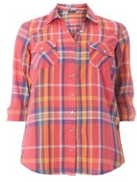 Evans Plus Size Women's Basic Check Shirt