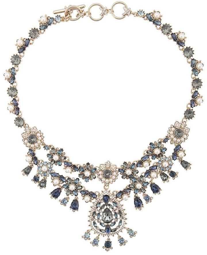 Marchesa Short Chandelier Necklace