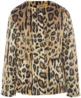 Pepe Jeans Girls Jamie Faux-Fur Jacket
