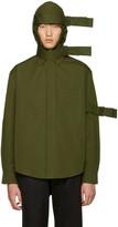 Craig Green Green Hooded Straps Jacket