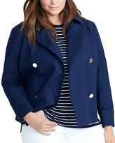 Lauren Ralph Lauren Plus Double Breasted Jacket