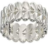 Orla Kiely Buddy Silver Stem Ring - Size L