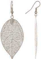 Joe Fresh Leaf Pendant Earrings