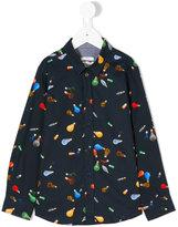 Paul Smith lights print shirt - kids - Cotton - 2 yrs