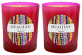 Qualitas Candles Freesia Beeswax Candles (Set of 2) (6.5 OZ)