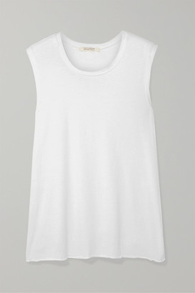Nili Lotan Cotton-jersey Tank - White