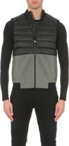 Polo Ralph Lauren Quilted Shell And Jersey Gilet