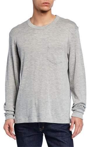 c7fbad9d Mens Cashmere T Shirt - ShopStyle