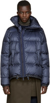 Sacai Navy Trapeze Down Jacket