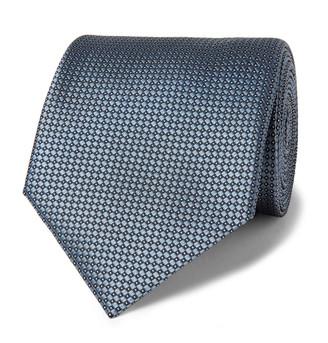 Giorgio Armani 8cm Silk-Jacquard Tie
