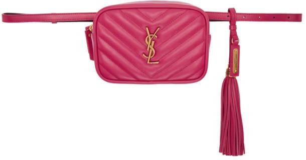 be14538cee Saint Laurent Pink Handbags - ShopStyle