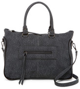Urban Expressions Alessandra Faux Leather Satchel