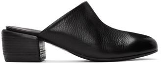 Marsèll Black Tondello Block Heel Mules