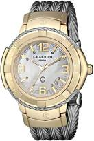 Charriol Women's CE438Y1650002 Celtic Analog Display Swiss Quartz Silver Watch