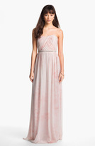 Erin Fetherston Erin by 'Cross Heart' Embellished Chiffon Gown
