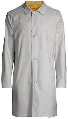 Kiton Reversible Raincoat