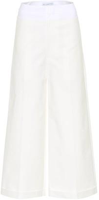 REJINA PYO Tate cotton-blend culottes