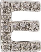 Ef Collection Diamond Initial E Stud Earring