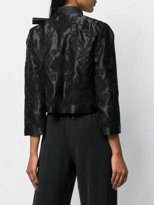 Dolce & Gabbana Lace-Embellished Corset Jacket