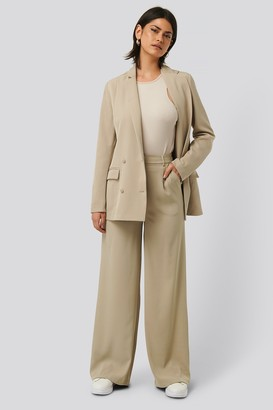 Glamorous Wide Leg Trousers Pockets
