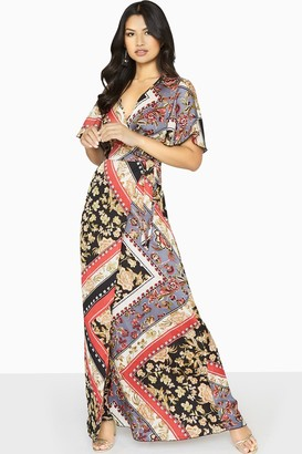 Girls On Film Clarity Wrap Maxi Dress