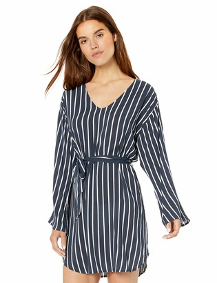 Seafolly Women's Stripe Long Sleeve Swimsuit Cover Up