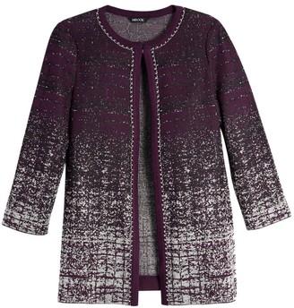 Misook Ombre Knit Jacket