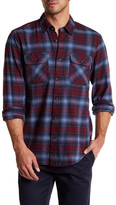James Campbell Plato Plaid Regular Fit Shirt