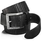 John Varvatos Artisan Textured Leather Belt - 100% Exclusive