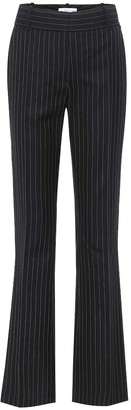 Victoria Beckham Pinstriped wool straight pants