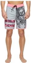 Hurley Phantom Block Party Julian Breast Cancer Association Boardshorts 18 Men's Swimwear