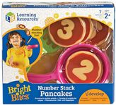 Learning Resources Bright Bites Number Stack Pancakes Set
