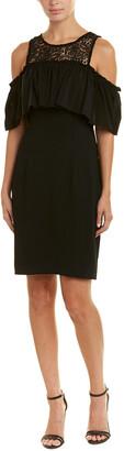 Trina Turk Lauren Cold Shoulder Sheath Dress