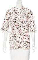 Sonia Rykiel Star Print Short Sleeve Top
