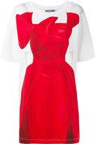 Moschino illusion T-shirt dress - women - Cotton/Other fibres - 40