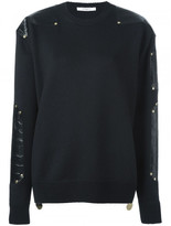 Givenchy contrast panel jumper