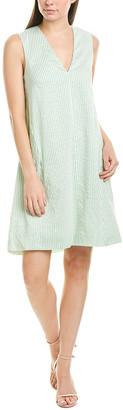Pearl By Lela Rose Lela Rose Silk-Blend Tunic Dress