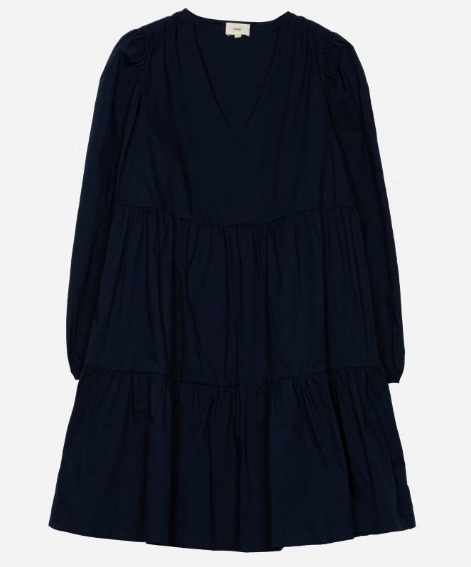 Thumbnail for your product : Margaux Elodie Navy Cotton Dress - 1