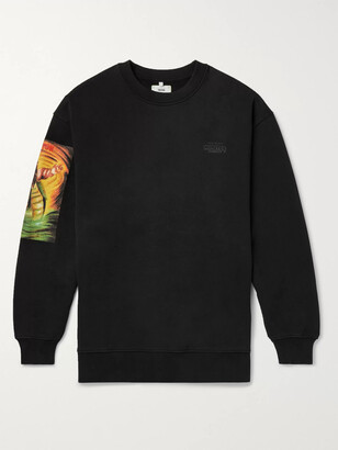 Acne Studios + Monster In My Pocket Printed Fleece-Back Cotton-Jersey Sweatshirt